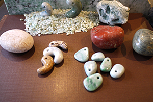 日本の石  勾玉・タンブル・原石