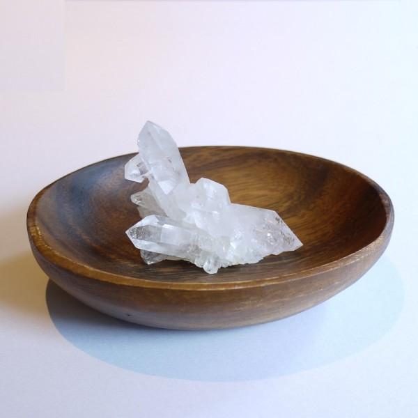 【新入荷】クラスター+木製皿 浄化セット ~限定品~